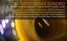 Festival Encuentros Sonoros 2017 – Sevilla(2-12-17)