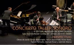 III FESTIVAL MÚSIQUES DE NOVA CREACIÓ – Valencia(25-11-17)